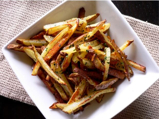 Hawaiian sea salt french fries