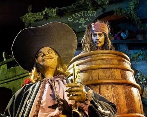 Disneyland Pirates of the Caribbean