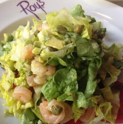 roy's maui shrimp salad photo
